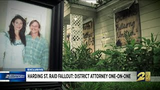 Harding Street raid fallout: District Attorney one-on-one