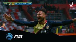 Gol de Emanuel Aguilera | América 3 - 1 Veracruz | Apertura 2018 - J17 | Presentado por AT&T