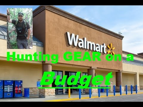 Walmart: Hunting Gear On A Budget