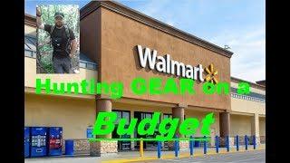 Walmart: Hunting Gear Oฑ A Budget