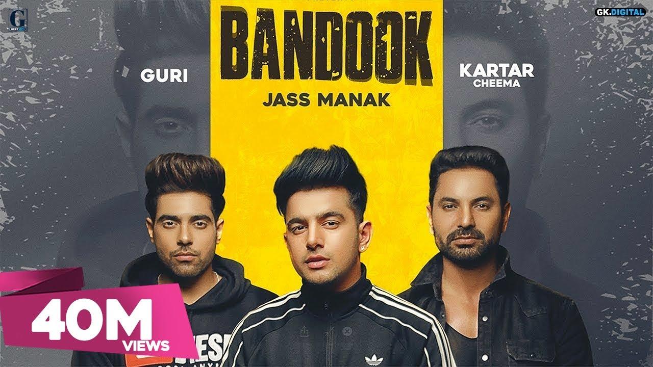 BANDOOK (Full Song) Jass Manak | Guri | Kartar Cheema | Sikander 2 Releasing On 2nd Aug | Geet MP3