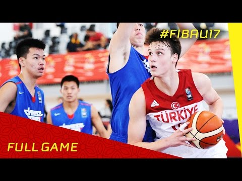 Turkey v Chinese Taipei - Full Game - 2016 FIBA U17 World Championship