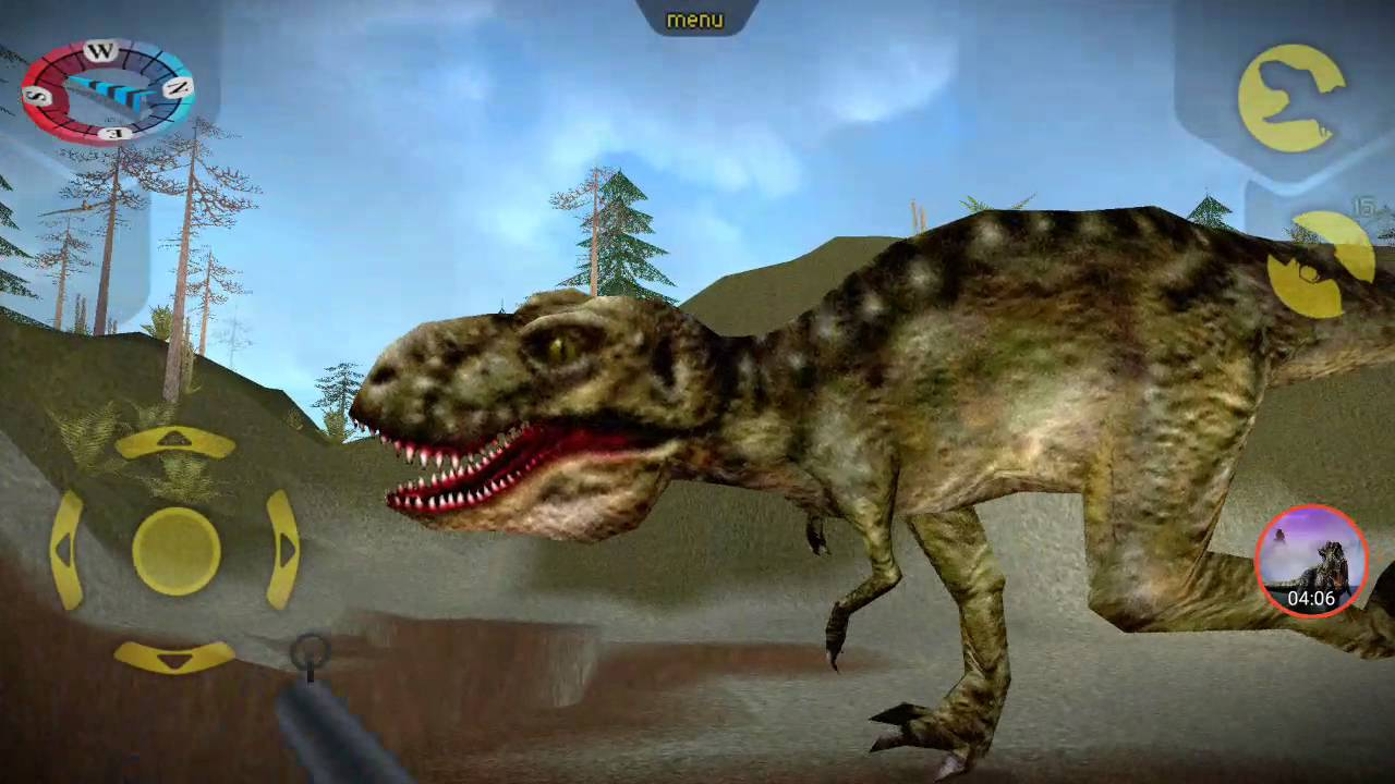 carnivores dinosaur hunter trex destruction youtube