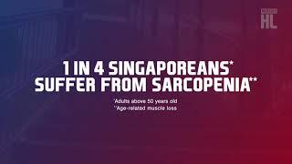 MARIGOLD HL Milk - 1 in 4 Singaporeans Suffer From Sarcopenia