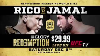 Don't miss GLORY: Redemption on December 9th!