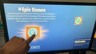 IT 5000 V-BUCKS FREE on FORTNITE! 'GLITCH' FORTNITE SAISON 8 PS4/XBOX/PC/SWITCH
