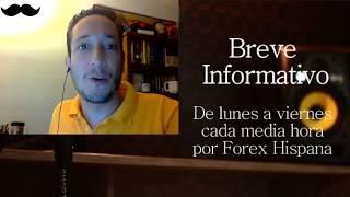 Breve Informativo - Noticias Forex del 15 de Noviembre del 2017