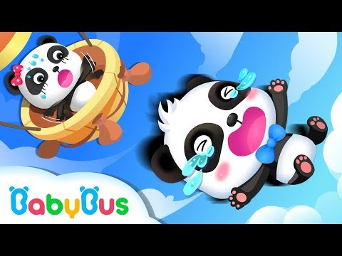 Baby Panda Flies