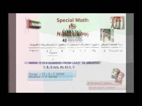 United Arab Emirates National Day With Math