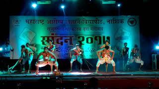 Folk dance live instrumental dance 2 nd price blockbuster  preformance