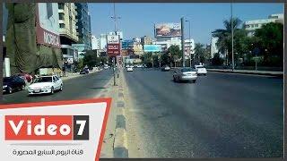 خريطة الحالة المرورية بشوارع وميادين القاهرة الكبرى