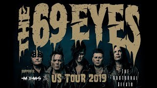 THE 69 EYES - U.S. Tour w/ MXMS + The Nocturnal Affair (OFFICIAL TOUR TRAILER)