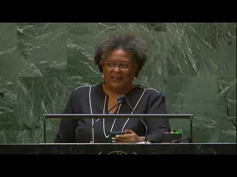 Prime Minister Mia Amor Mottley Barbados, addresses the United Nations 2021 [FULL]