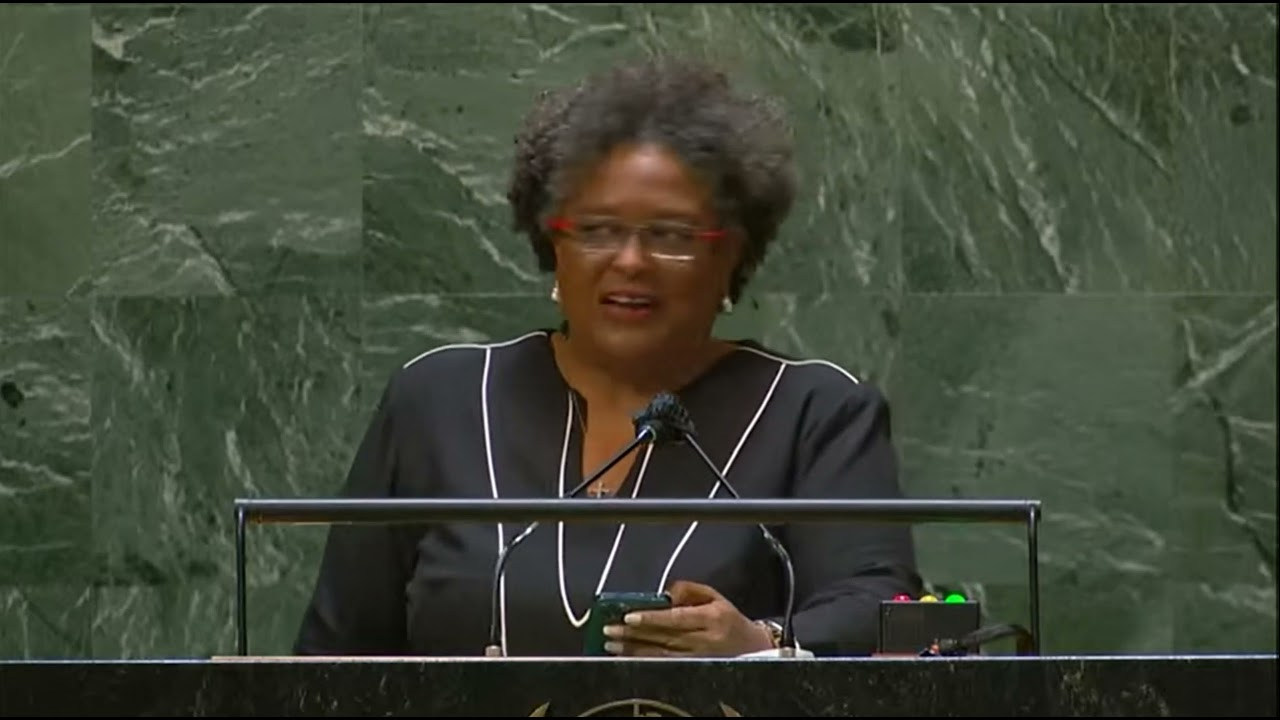 Download Prime Minister Mia Amor Mottley Barbados, addresses the United Nations 2021 [FULL]