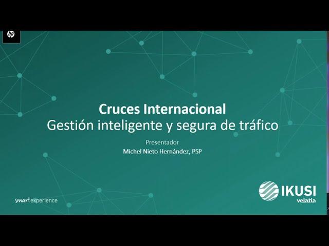 Cruces fronterizos: Gestión inteligente y segura del flujo vehícular