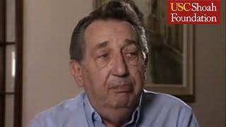 "Holocaust Survivor George Gottlieb Testimony Clip ""Camps"""
