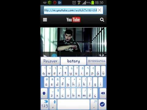 androidde youtube dan video indirme