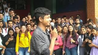 Best beat boxing & Hip Hop ever IPS academy indore college || vlog ft. EMCEE Karun  krishna