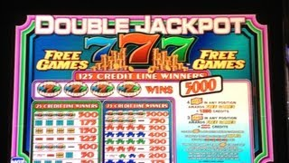 Double Jackpot 777 Slot Machine Free Spin Bonus