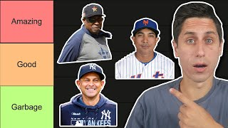Ranking EVERY Manager in MLB for 2020 Season