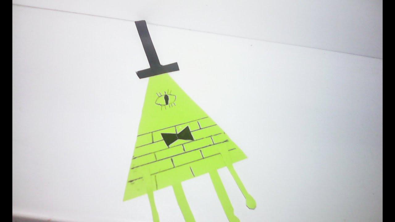 Как сделать Билла шифра из бумаги. UA-tv 14