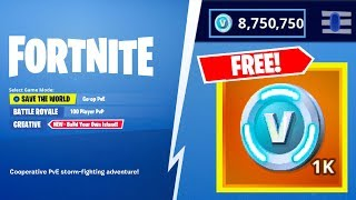 Fortnite V-Bucks 2019