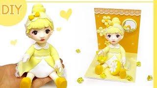 [DIY Doll&Room] 나만의 인형&룸 만들기 !! 노랑노랑 옐로우편  옐로 인형&진열공간을 만들어 보자!