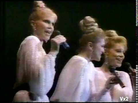 The McGuire Sisters live in Dayton, Ohio (1985): You Belong to Me & May You Always