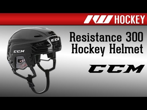 9fc62d86da2 CCM Resistance 300 Hockey Helmet Review - YouTube