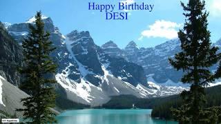 Desi  Nature & Naturaleza - Happy Birthday