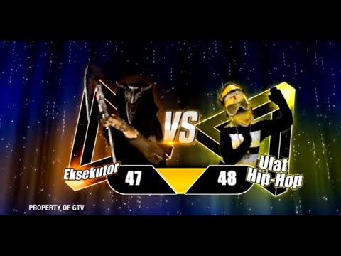 Kesel! Ulet Hip Hop VS Eksekutor Yang Menang Ini Nih..    The Mask Singer Eps. 11 (9/9) GTV 2018