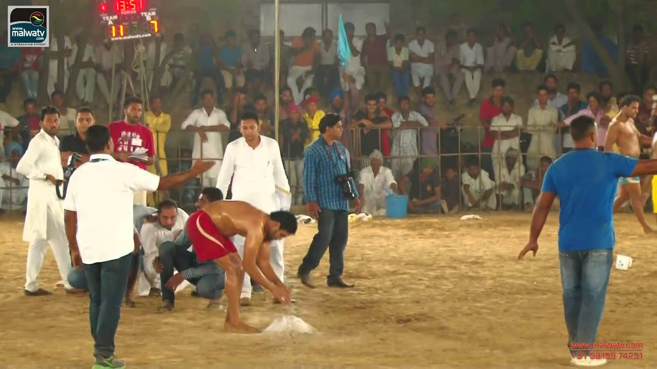 BHOTNA (Barnala) Kabaddi Tournament - 2014 || HD || Part 3rd.