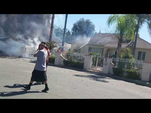 Fire: 12010 Califa Street. North Hollywood, CA