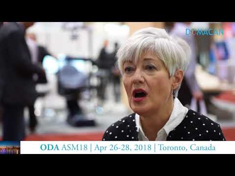 DOMACAN speaks with Linda Anderson at ODA ASM18