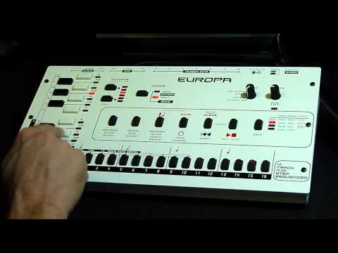 Analogue Solutions Europa Sequencer Tutorial #01 - Europa and TBX-303