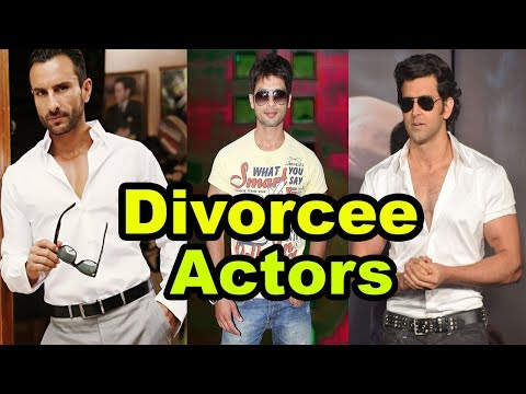 Top 5 Divorcee Handsome Bollywood Actors 2017 [Bollywood Cafe]