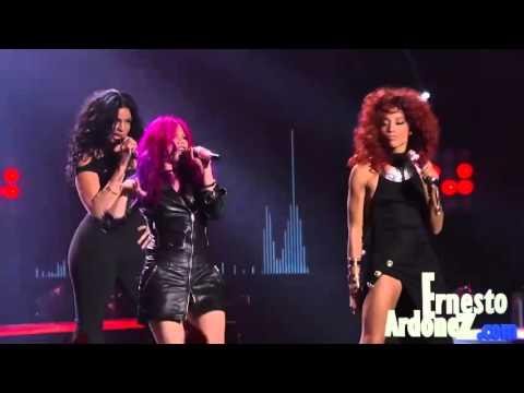 Allison Iraheta, Jordin Sparks and other finalists of american Idol