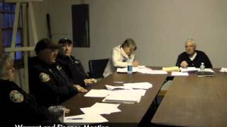 Warrant and Finance - 04-13-2015