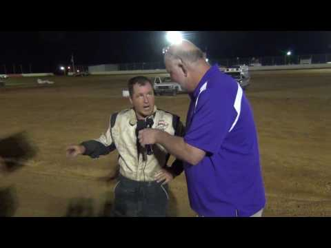 Trail-Way Speedway 358 Sprint Car Victory Lane 07-29-16