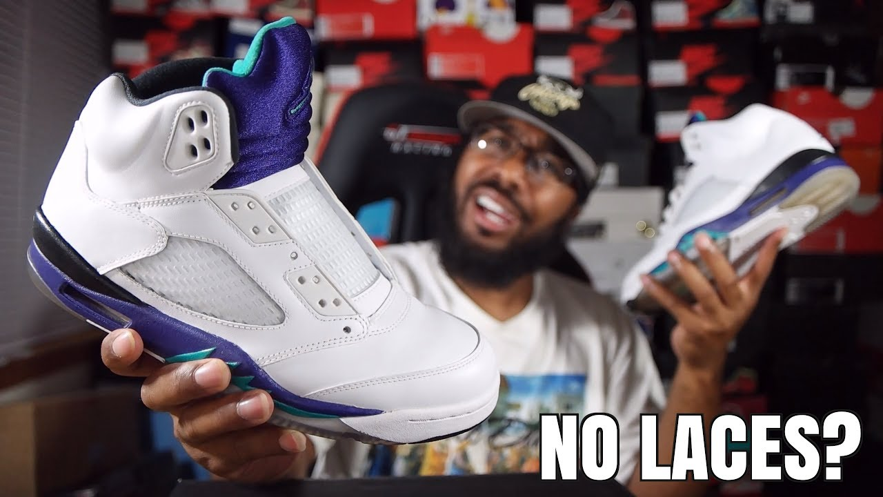 3367304cee1f1f NIKE RELEASING AIR JORDANS WITH NO LACES WTF    - YouTube