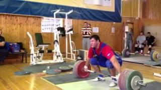 Lovchev Aleksey  (+105 kg kategory ) Snatch 205 kg