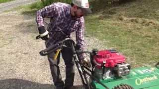 billy goat outback brushcutter mr dave s lawn show