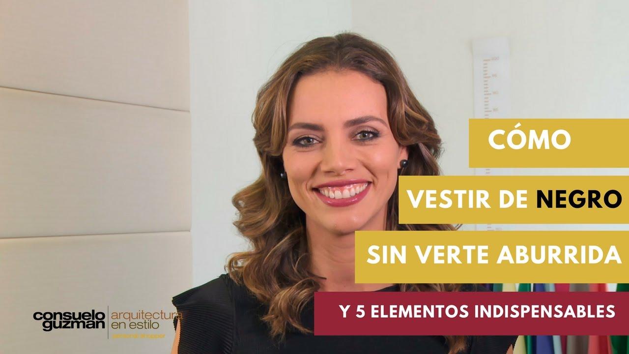9dd6056504cd24 Cómo Vestir De Negro Sin Verte Aburrida y 5 Elementos Indispensables ...