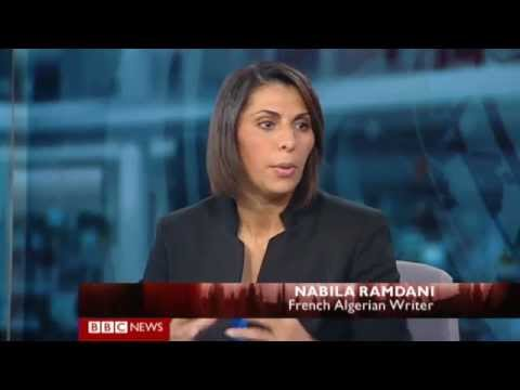 Nabila Ramdani - BBC World TV / News - Dateline London - 15 September 2012