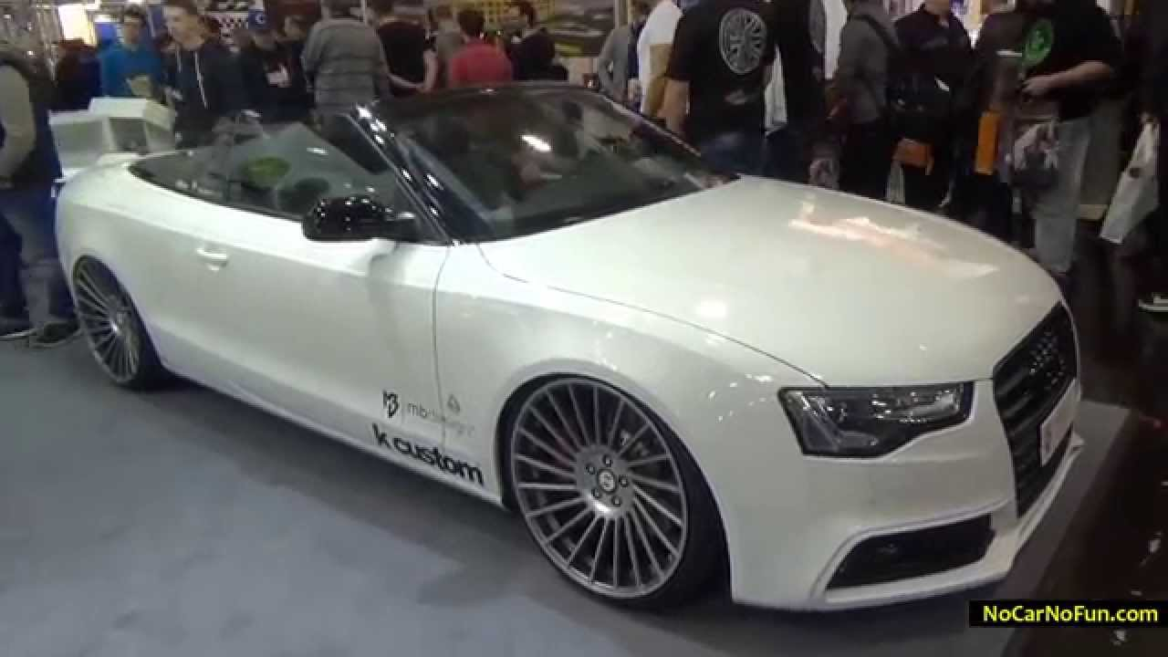 audi a3 cabrio mbdesign tuning 2014 essen motor show. Black Bedroom Furniture Sets. Home Design Ideas