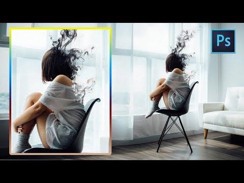 [ Photoshop Tutorial ] Surreal Smoke Effect in Photoshop thumbnail