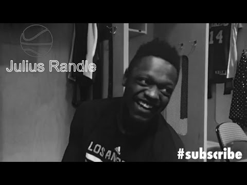Julius Randle interview (talks sneakers and hometown return)