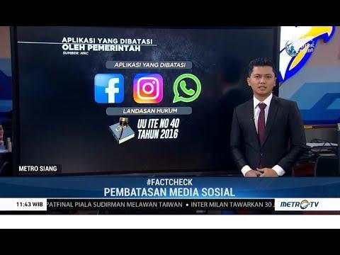 Sampai Kapan Akses ke Media Sosial Dibatasi?