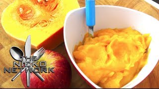 Pumpkin & Apple Puree - Baby Food Recipe Thumbnail