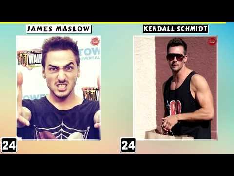 James Maslow VS Kendall Schmidt Transformation 2018